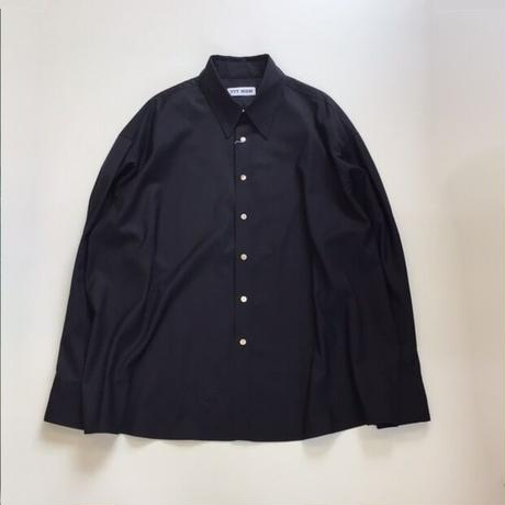 TTT_MSW | wool shirt  | midnight blue