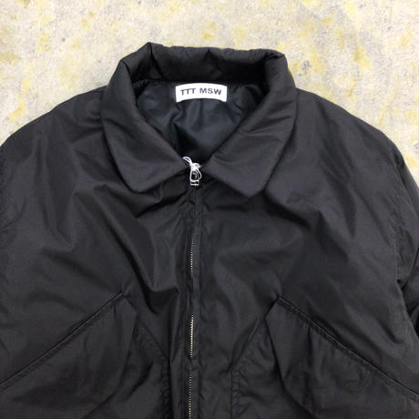TTT MSW | Nylon flight jacket | black
