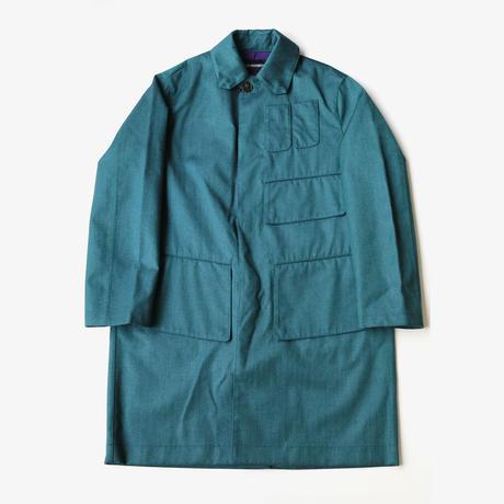 YUKI HASHIMOTO |  BONDING COAT | GREEN