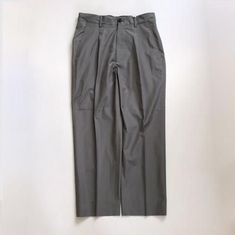 Ernie Palo   Exclusive Finx Cotton Tuck Slacks      Gray