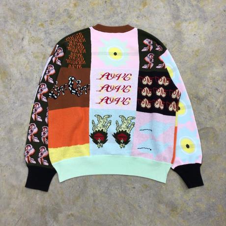TTT MSW | Patchwork  pullover knit | multi