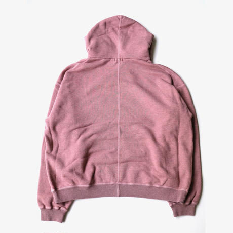 URU | HOODED SWEAT | PINK