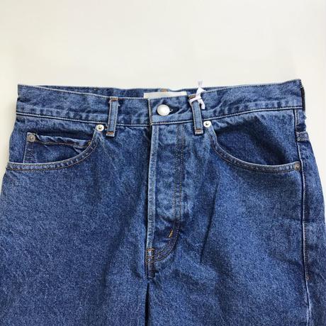 Ernie Palo    Denim Pants#01 -bleach-    Indigo