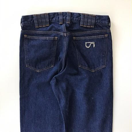 SHOOP | CHALCEDONY LOOPS WASHED DENIM PANTS |  BLUE