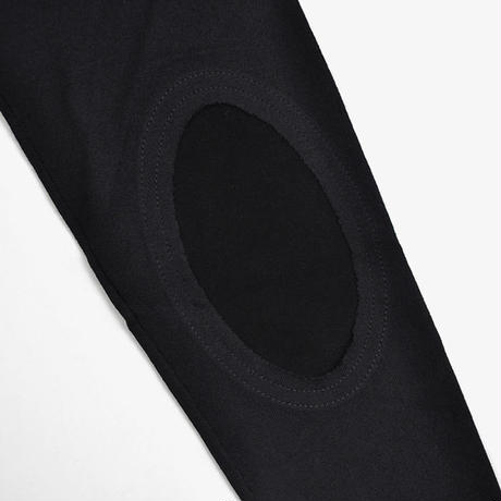 Maison Margiela | ELBOW PATCH SWEATER | Black
