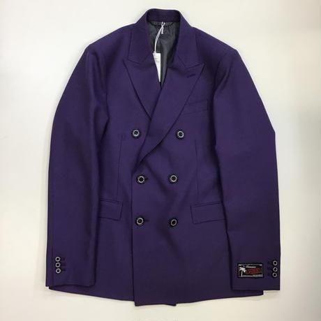 "DAIRIKU | ""Jimi Hendrix"" Double Tailored  Jacket | Purple"