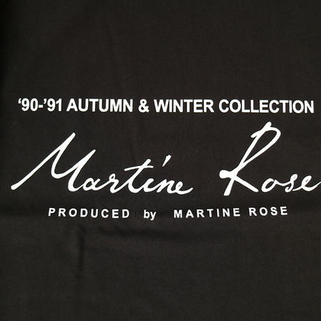 Martine Rose | CLASSIC SHORT SLEEVE T-SHIRTS | BLACK