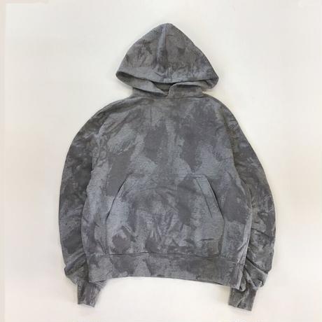 TTT_MSW   paint hoodie    grey