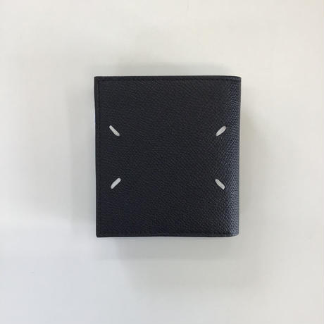 Maison Margiela | SMALL LEATHER WALLET | BLACK