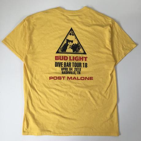 THRIFT |BUD LIGHT T-shirt | YELLOW