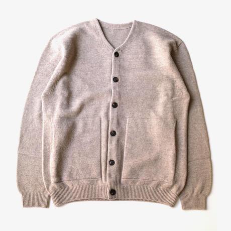 crepuscule | wholegarment v-neck cardigan  | Beige