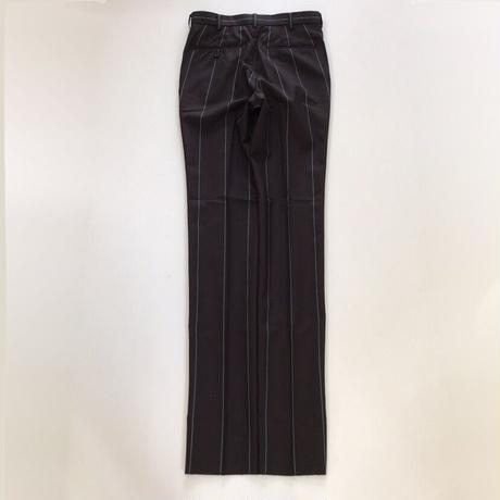 LITTLEBIG     Stripe Slim Trousers    BROWN