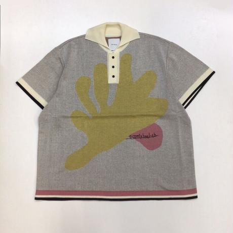 Kota Gushiken | Tete Polo Shirt | Beige/Yellow