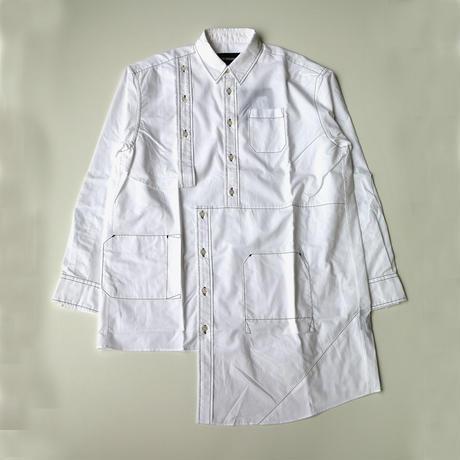 YUKI HASHIMOTO |  BUG DETAIL SHIRTS | WHITE