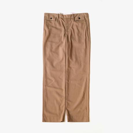 URU | COTTON RAYON EASY PANTS | CAMEL