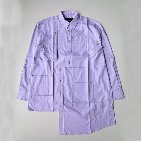 YUKI HASHIMOTO |  BUG DETAIL SHIRTS | PURPLE