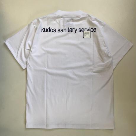 kudos | SANITARY  T-SHIRT | WHITE