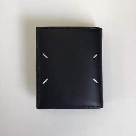 Maison Margiela | SMALL LEATHER WALLET | BLACK
