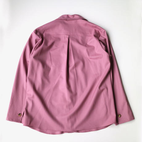 ATMSTUDIO | TIE&RIBBON JACKET SHIRTS | DRY ROSE
