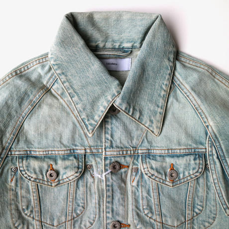 sugarhill | FADED DENIM JACKET | Faded Indigo