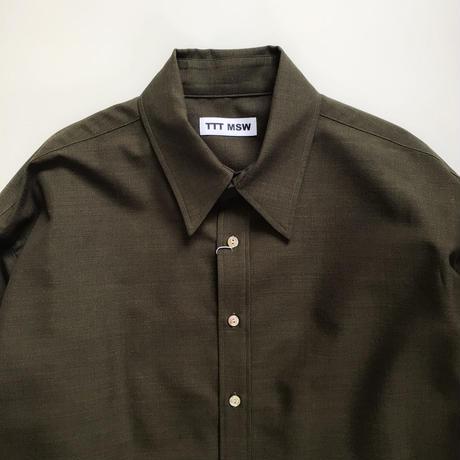 TTT_MSW | wool shirt  | olive