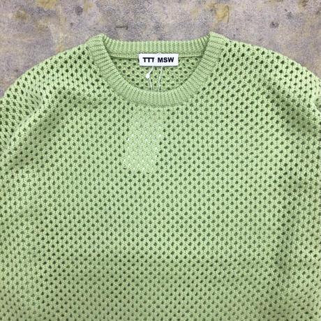 TTT MSW | Wool pullover knit | mint