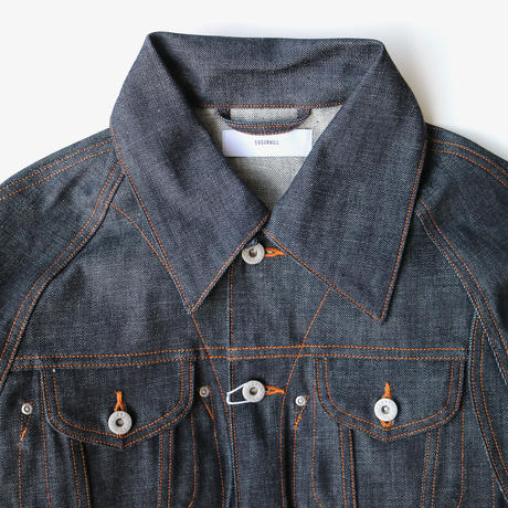 sugarhill | SELVAGE DENIM JACKET | Rigid Indigo
