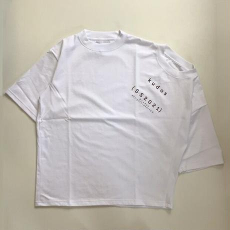 kudos | WE ARE HERE TOGETHER!  T-SHIRT | WHITE