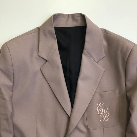 ERNEST W. BAKER | EWB EMBROIDERED  BLAZER | DUSTY PINK