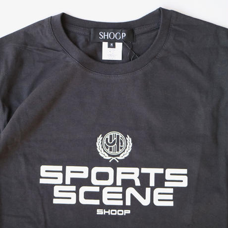 SHOOP | Sports Scene T-Shirt | Used Black
