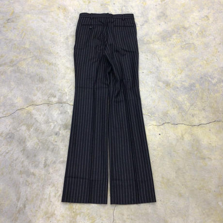 LITTLEBIG   Tucked Flare Trousers    BLACK