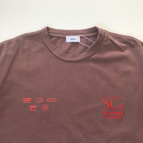 Allege. | Southern Gallery Tee  | BROWN