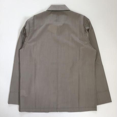 Ernie Palo | No Button Wool SH Blouson | Beige
