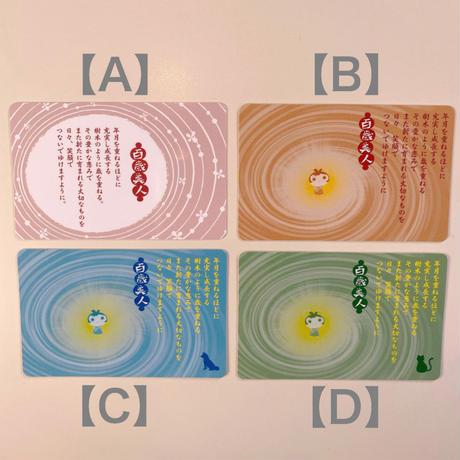百歳美人カード(小)