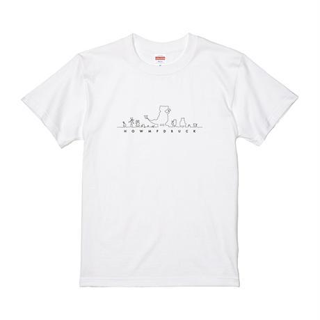 【KIDS(小柄な女性)サイズ】ホーンプバック Tシャツ