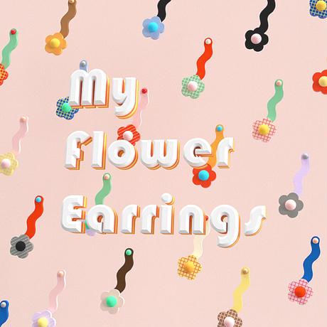 My Flower Earrings !