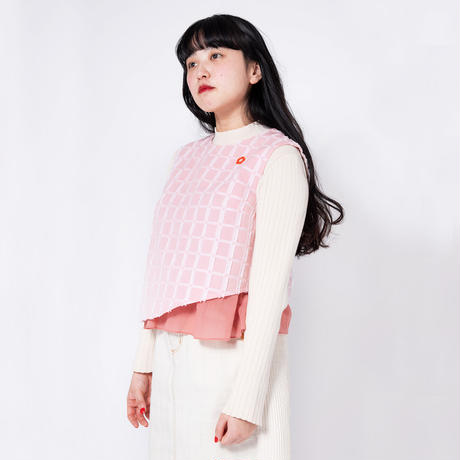 Flower Bed Flare Top - PINK