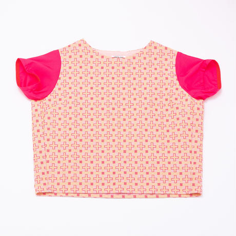 PLUS DHECK TOPS - PINK