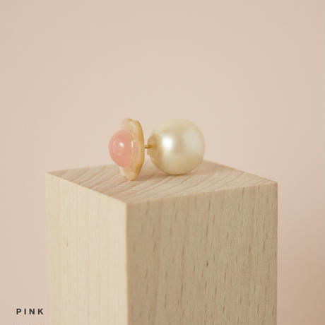Flower Stem Earring (PEARL)