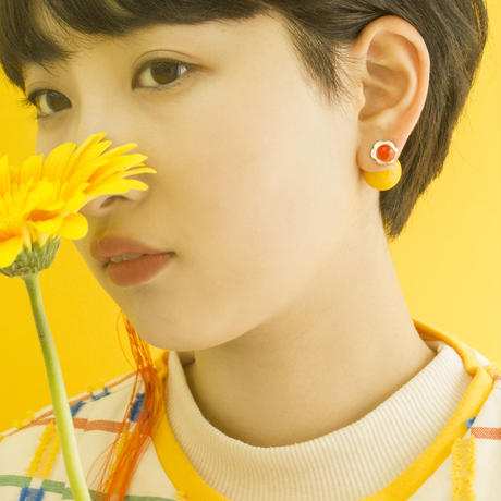 Flower Vase Earring