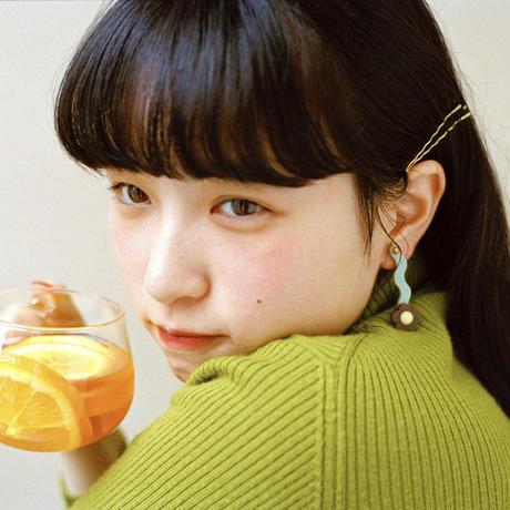 Flower Earring { tea }