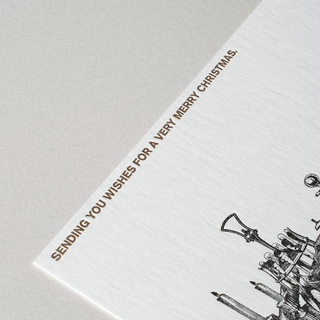 SAB LETTERPRESS Christmas Card