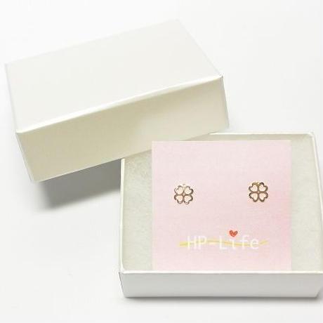 💕可愛い💕10Kピアス💕四つ葉のクローバー※送料込HP18101030