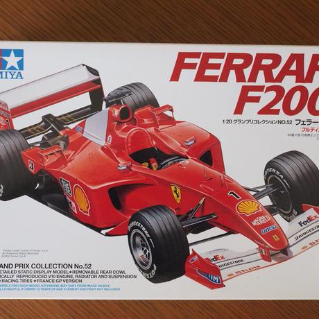 タミヤ フェラーリF2001 グランプリコレクション52 1/20