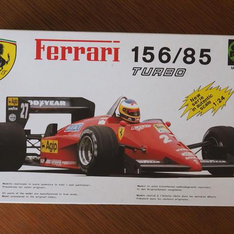 プロター Ferrari 156/85 TURBO 1/24