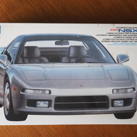 タミヤ ACURA NSX Sports car series(タミヤ海外向け) 1/24