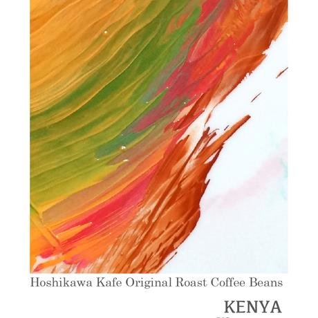 ケニア ワムグマAA : 120g Kenya Wamuguma AA
