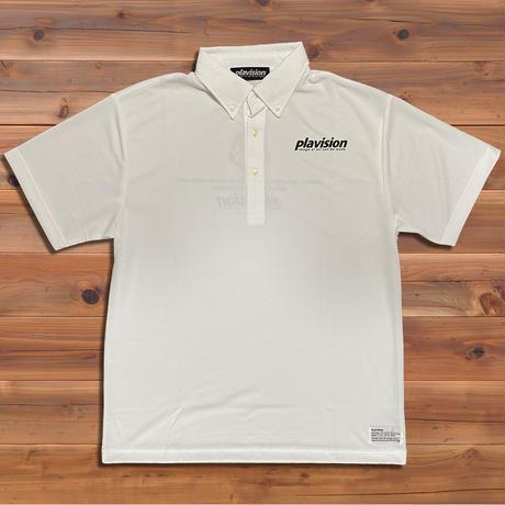 ボタンダウンポロシャツ(ホワイト)