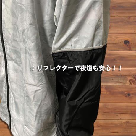 リーフ迷彩ウィンドブレーカー(ホワイト)