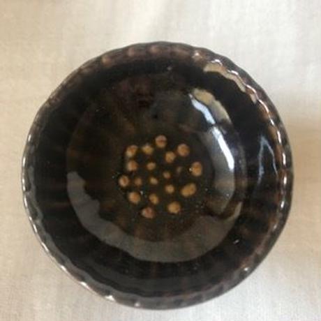 セラドン焼きミニアロマポット(ブラウン)